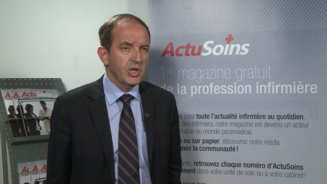 Didier BORNICHE, président de l'Ordre National des Infirmiers