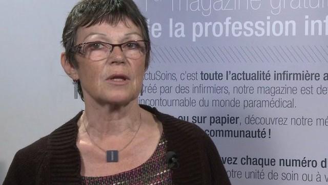 Marie-Françoise ROUSSEAU, présidente de la Fédération Nationale des Associations d'Aides-Soignants
